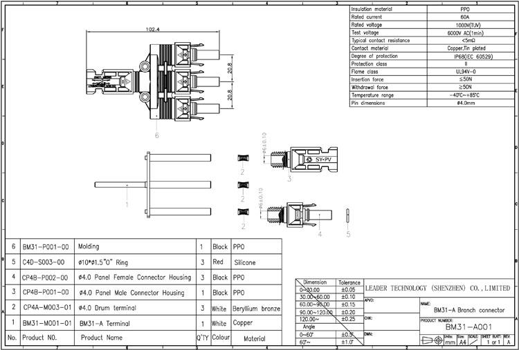 MC4 Solar Plug