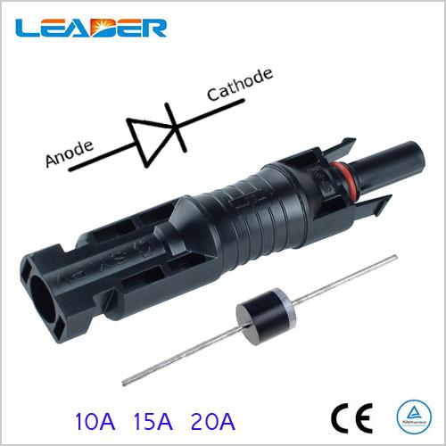 MC4 Diode Connector | China MC4 Diode Solar connector