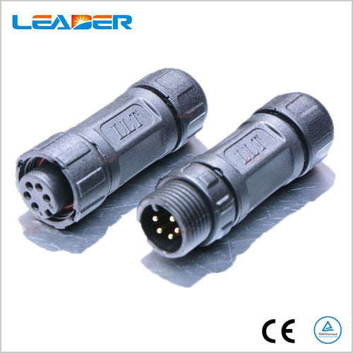 5 Pin Connector Cable : M pin waterproof cable connector