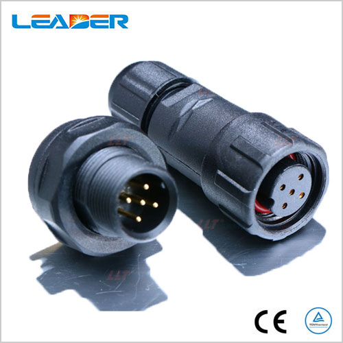 250v M14 5 Wire Waterproof Cable Connector